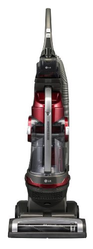 Lg Kompressor Pet Care Upright Vacuum, Bagless, Red, Luv200R
