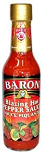 Baron Blazing Hot Pepper Sauce by Baron Foods, Ltd.