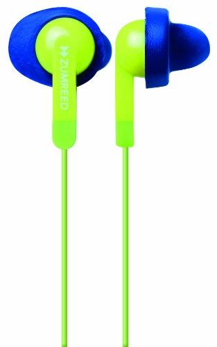 Zumreed Zum-80308 Fit N Quiet Memory Foam Cushioned Earphones (Light Green)