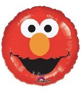 "18"" Sesame Street Elmo Smiles Balloon - 1"