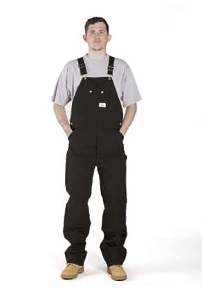Roundhouse heavy duty black bib overalls lot383 mens denim overalls at amazon men s clothing store - Roundhouse bib overalls ...