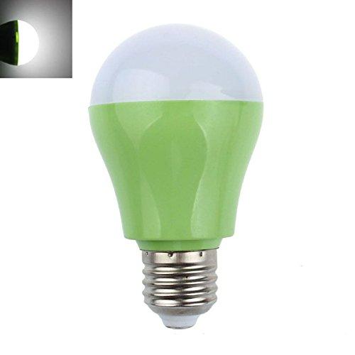 Tonsee E27 5W 110V 220V 25Led Microwave Radar Motion Sensor Light Lamp Bulb(Green)