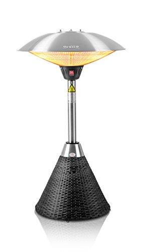 Favex 8591007 Kiev H5202 Catalytique Chauffage dAppoint Noir 49 x 43 x 74.3 cm