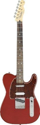 Fender Deluxe Nashville Tele® Electric Guitar, Candy Apple Red, Rosewood Fretboard