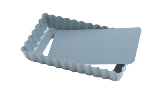 Fox Run Preferred Non-Stick 4-Inch Mini Rectangular Loose Bottom Quiche Pan
