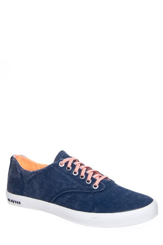 Seavees Men's Hermosa Plimsoll Pop Low Top Sneaker