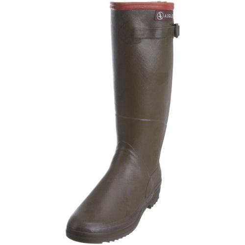 Aigle Women's Chantebelle Kaki Wellington Boot 85219 6.5 UK, 40 EU