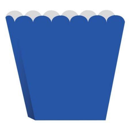 Creative Converting Treat Boxes, Blue, 8 Per