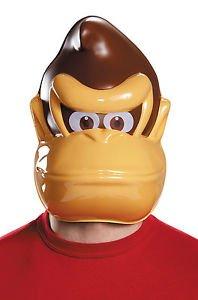 [Super Mario Brothers Donkey Kong Adult Mask] (Donkey Kong Costume For Women)