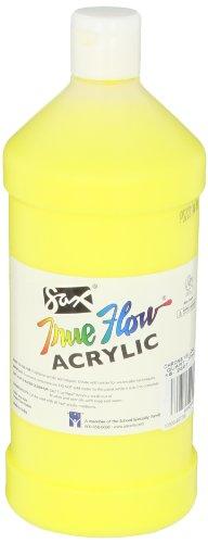 Sax True Flow Medium Bodied Acrylic Paint - Quart - Chrome Yellow