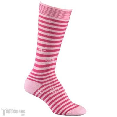 Youth Pippi Jr. Ski Socks By Fox River Mills In Pink - Small