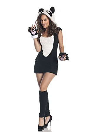 Amazon.com: Mystery Women's House Panda Costume: Clothing