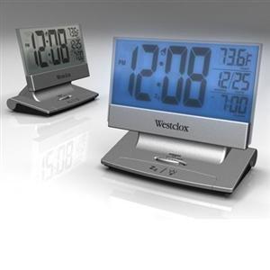 Westclox Genuine LCD Alarm Clock Plasma