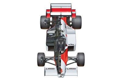 1/20 BEEMAXシリーズ No.03 マクラーレン MP4/2 '84 イギリスグランプリ仕様