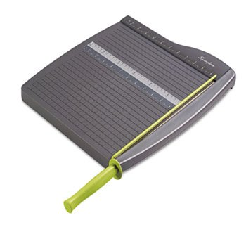 """Swingline - Economy Paper Trimmer,12"""" Long,12-3/4""""X16-3/4""""X2-1/8"""",Gray, Sold As 1 Each, Swi 9312 front-449904"""