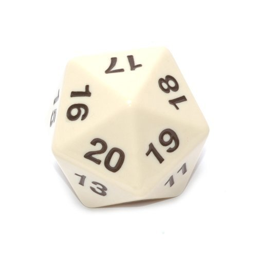 Koplow 14799 D20 Single 55 mm Countdown Ivory Bagged