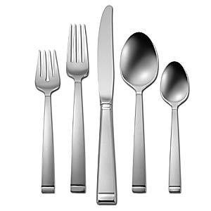 Oneida Bridal Patterns Frost 46pc Service For 8 Place Knife Spoon Salad Fork & Teaspoon
