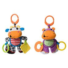 Infantino Ling Along Crinkle Pal - (Colors/Styles Vary) - 1
