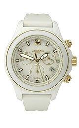 Zodiac Air Dragon Chronograph Acrylic White Dial Women's watch #ZS7623