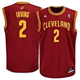 NBA Cleveland Cavaliers Kyrie Irving #2 Youth Swingman Road Jersey, Red, Large Amazon.com