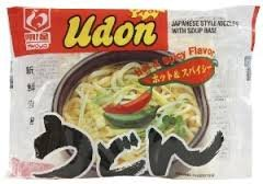 Myojo Udon Hot & Spicy Flavor (Pack of 6x7.22z)