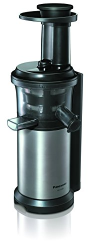 Panasonic MJ-L500 - juice makers (Slow juicer, Black, Silver, 50/60 Hz)