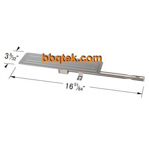 Stainless Steel Grill Burner For BBQ Grillware Gat1913 , Gat1913A, Bbqtek Gst1811A, Perfect Flame Gat1913-1