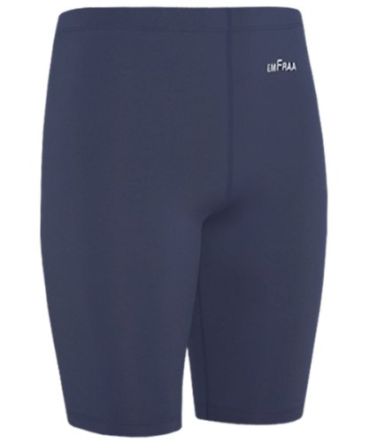 Emfraa Men Women Compression Base Layer Running Tight Skin Shorts Navy S ~ 2XL