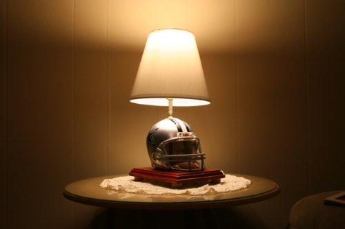 Football Helmet Table Lamp : Cowboys table lamp dallas
