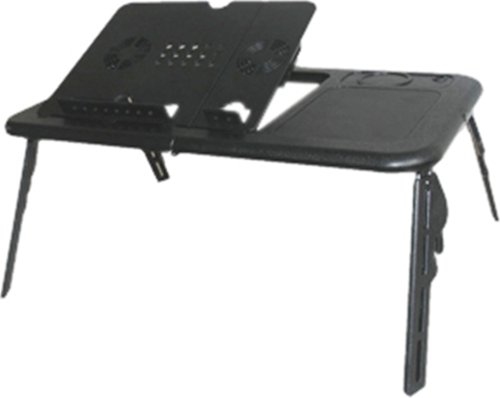 E-Stand LD09 B Black Laptop Table