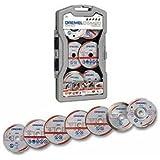 Dremel 2615S705JA Coffret de 7 Disques découpes pour Scie Dremel DSM20