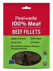 feelwells-100-meat-treats-beef-fillets-100g-pack-of-10