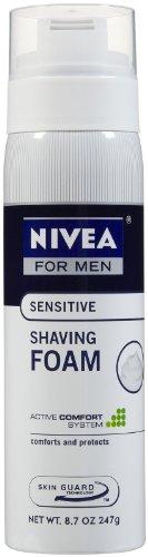 Nivea For Men Sensitve Shaving Foam -- 8.7 oz