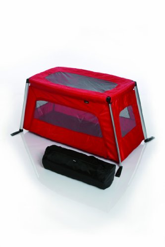 Phil & Teds Traveller Crib, Red front-50138