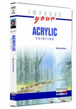 Improve Your Acrylic Painting DVD - Terry Harrison