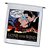 Gone with the Wind - Bad Breath - 12 X 18 Inch Garden Flag