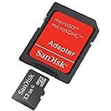 32GB : SanDisk SDSDQB-032G-B35 32GB Class 4 MicroSD With MicroSDHC-SD Adapter