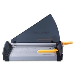 """Fellowes Plasma 150 Paper Cutter - 1 x Blade(s)Cuts 40Sheet - 15"""" Cutting Length - Metal Base, Stainless Steel Blade - Silver - 5411002 by FELLOWES"""