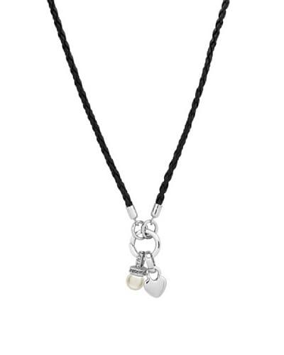 Saint Francis Crystals Collana Argentato