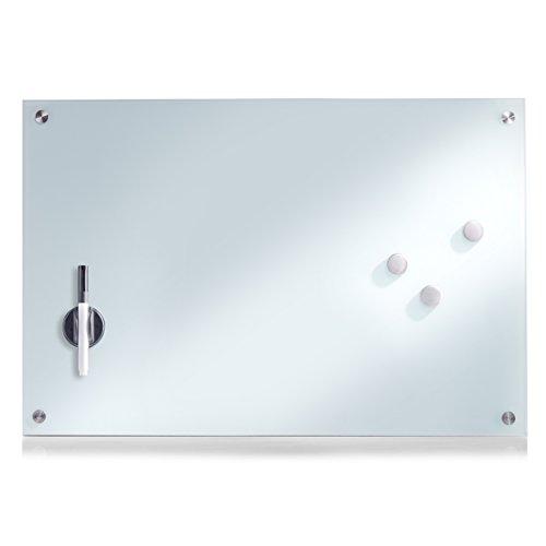 zeller-11660-memobord-glas-weiss-60-x-40-cm