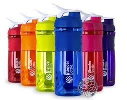 Blenderbottle 28-Ounce Sport Mixer Colors Vary (Color Bottles / White Tops)