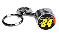 NASCAR Jeff Gordon #24 Piston Key Chain