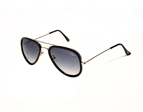 Floyd Floyd Aviator Sunglasses (10020_SIL_SEA_GRN_BLK) (Black)
