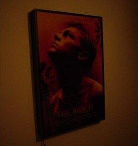 Movie poster light box display frame cinema lightbox light - Lightbox amazon ...