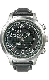 Timex World Time Charcoal Dial Men's watch #T2N609