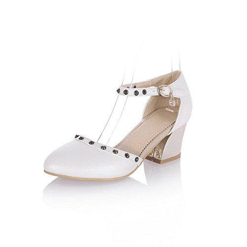 adee-girls-pointed-toe-western-white-polyurethane-pumps-shoes-55-uk