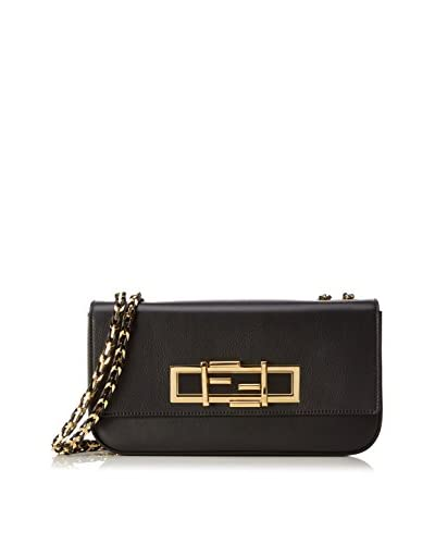 Fendi Bolso asa al hombro Mini '3Baguette' Crossbody Bag