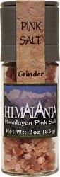 Himalania Himalayan Coarse Pink Salt Grinder -- 3 oz