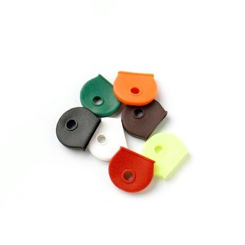 Coprichiavi assortiti, 21 pezzi, colori assortiti