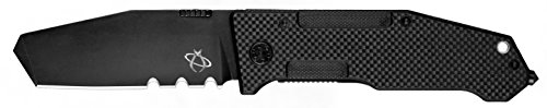 "Mantis Knives MT7-2AS ""Folding Pry 2"" High Tech Folding Blades Knife, Black"